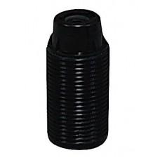 PHENOLIC 10MM SBC THREADED LAMPHOLDER BLACK