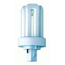 THREE TURN 2 PIN FLOURESCENT LAMP GX24D-1 13 WATT BLT