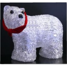 ICE BEAR 20 LEDS 4 LEGS + RIBBON